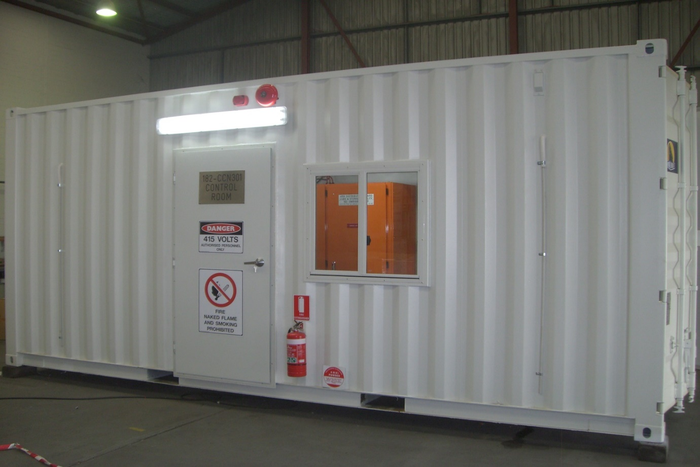 40ft Shipping Container >> Switchboards + Switchrooms | ISAS Integrated Switchgear ...